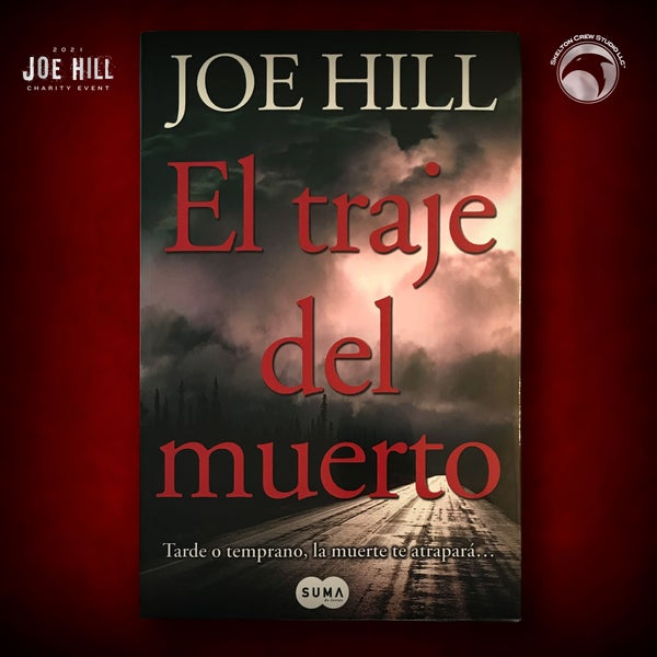 Image of JOE HILL 2021 CHARITY EVENT 60: SIGNED Heart-Shaped Box - Spanish paperback - 2 AVAILABLE