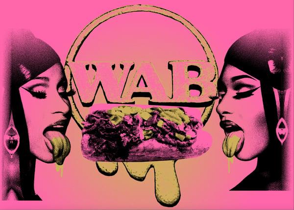 Image of Wet Ass Beef print - WAB