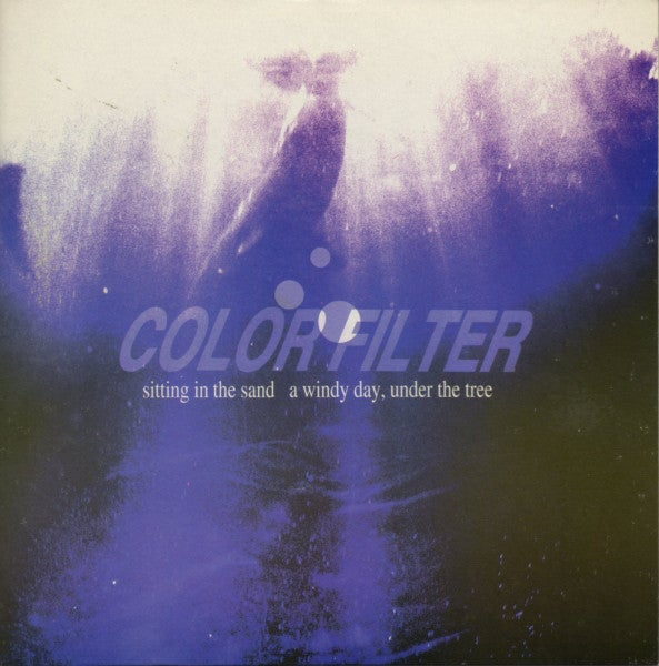 """Image of COLOR FILTER - Sitting In The Sand (Limited Marble White 7"""" Vinyl)"""