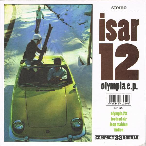 """Image of ISAR 12 - Olympia EP (Limited White 7"""" Vinyl)"""