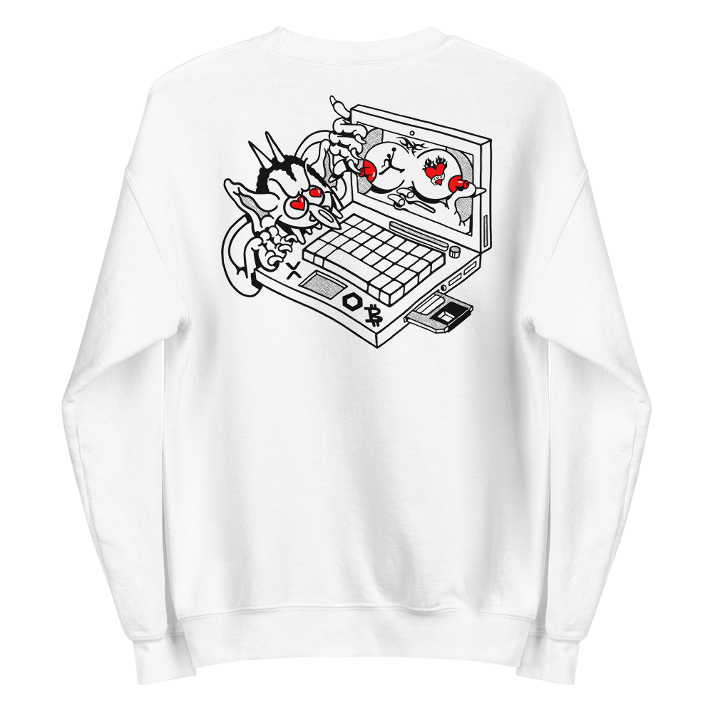 "Image of ""Internet Terror"" Unisex Sweatshirt"