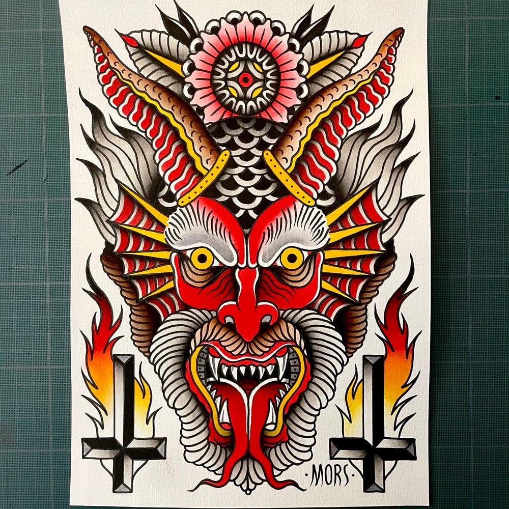 Image of SATAN ANYONE ? - Print