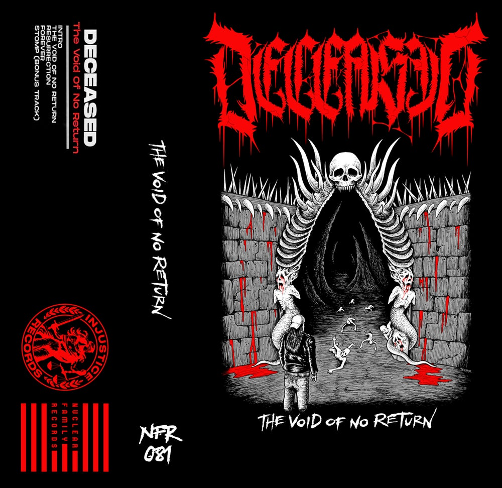 """Image of NFR081 - Deceased """"The Void of No Return"""" Cassette"""