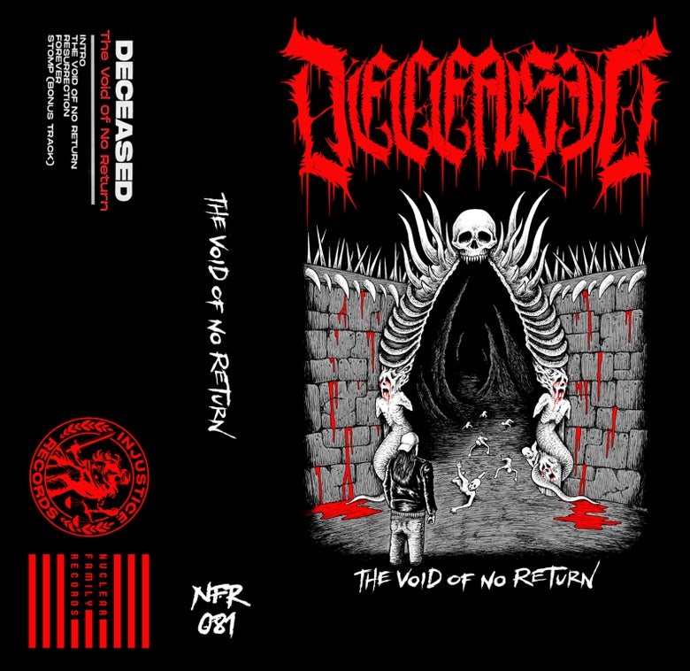 "Image of NFR081 - Deceased ""The Void of No Return"" Cassette"
