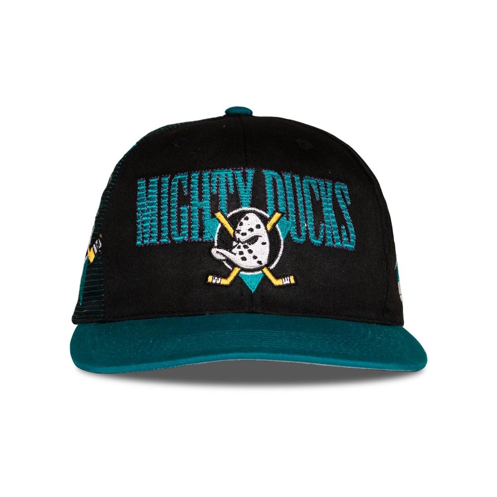 Image of Vintage Sport Specialties Mighty Ducks Snapback Cap