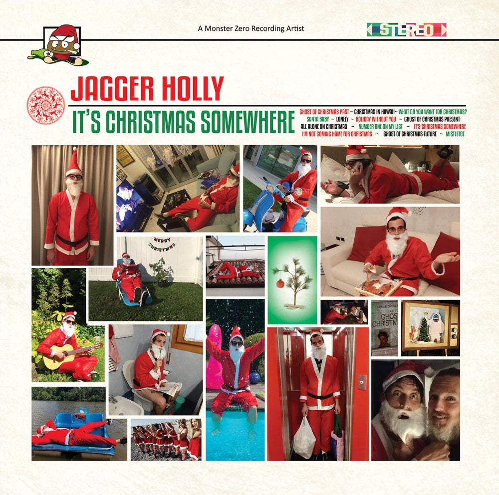 Image of Jagger Holly - It's Christmas Somewhere Lp