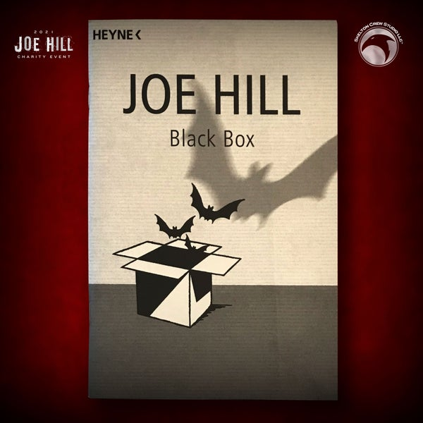 Image of JOE HILL 2021 CHARITY EVENT 66: SIGNED Voluntary Comittal (Black Box chapbook) - German -9 AVAILABLE