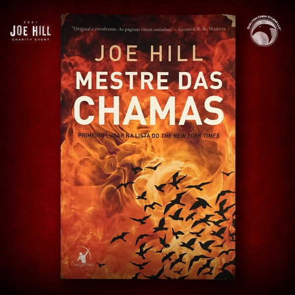 Image of JOE HILL 2021 CHARITY EVENT 70: SIGNED The Fireman - Portugese paperback - 2 AVAILABLE