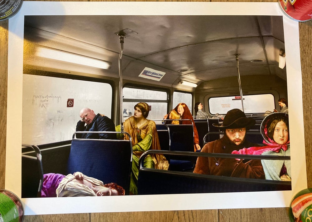 Image of CWS v The PRB (On The Bus Uptown) - 45 copies only