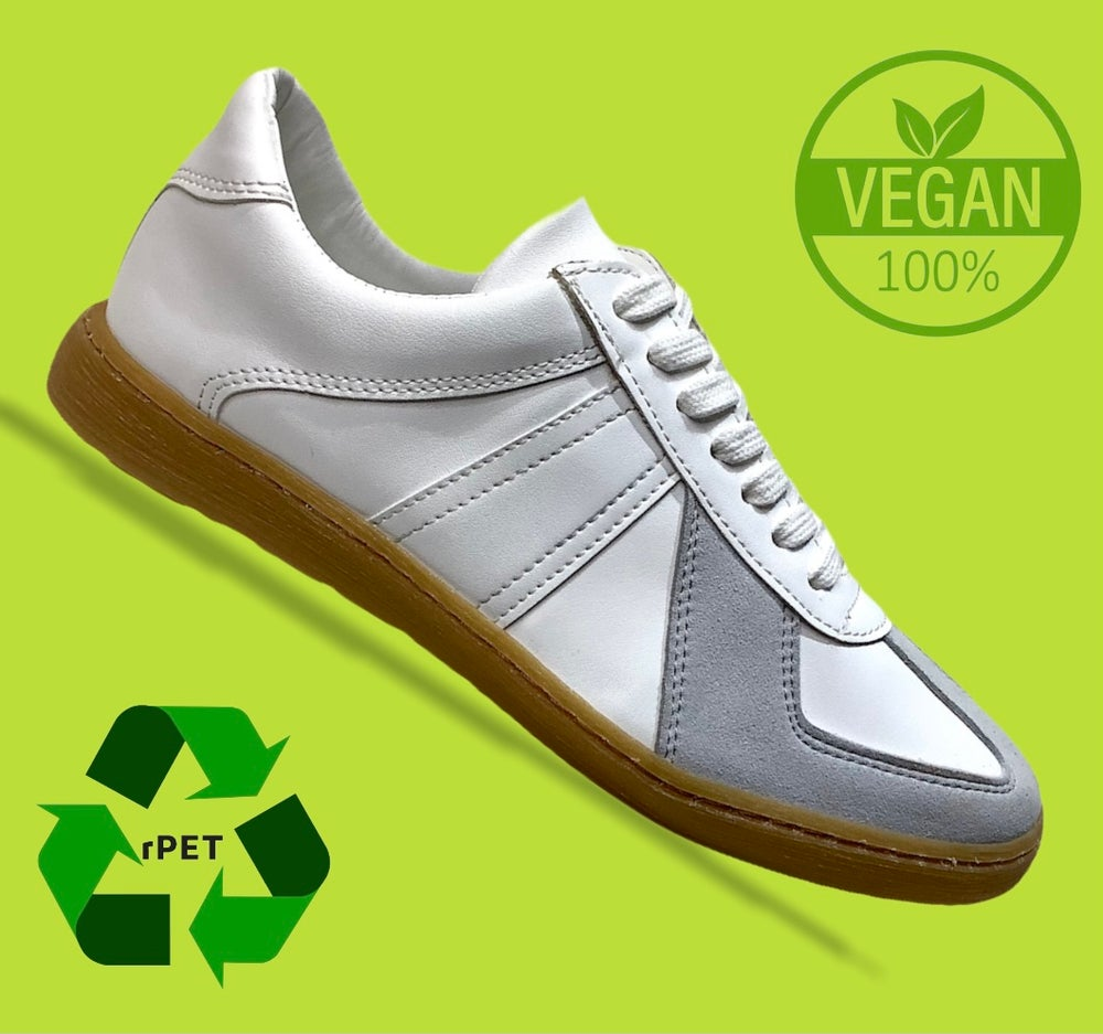 Image of VEGANCRAFT 100% vegan German army trainer sneaker shoes made in Spain