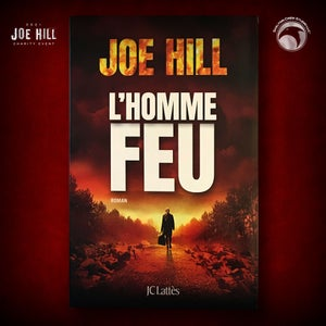 Image of JOE HILL 2021 CHARITY EVENT 74: SIGNED The Fireman - French paperback - 1 AVAILABLE