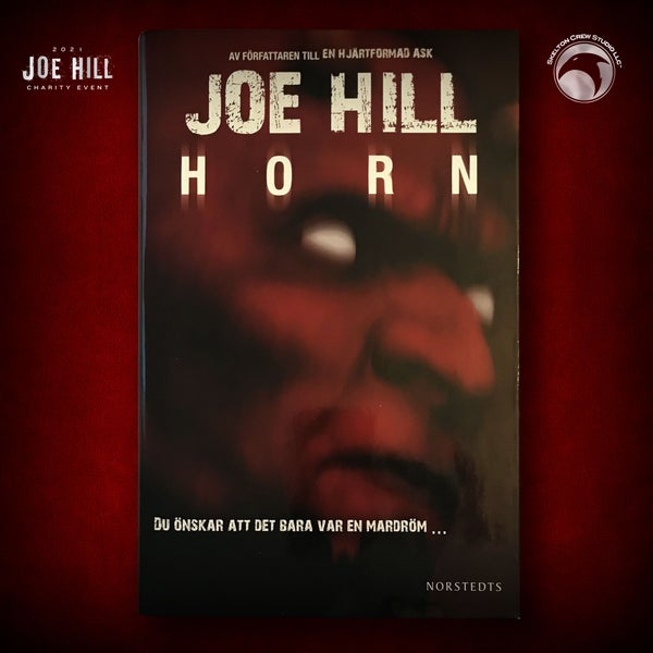 Image of JOE HILL 2021 CHARITY EVENT 75: SIGNED Horns - Swedish hardcover - 2 AVAILABLE