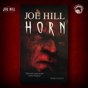 Image of JOE HILL 2021 CHARITY EVENT 80: SIGNED Horns - Swedish paperback - 1 AVAILABLE