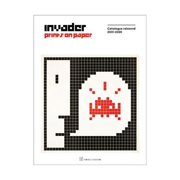 Image of  INVADER - Prints on Paper - 2nd Edition