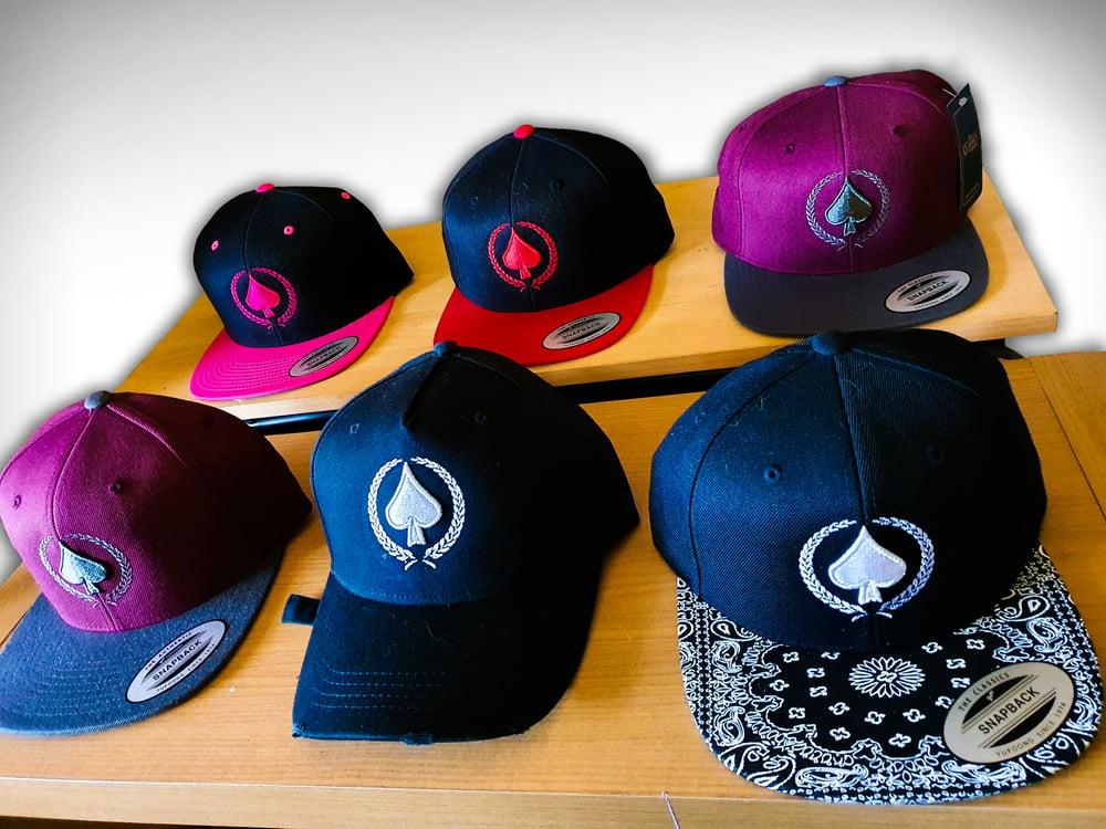 Image of Ace of Spades Snapback / baseball cap