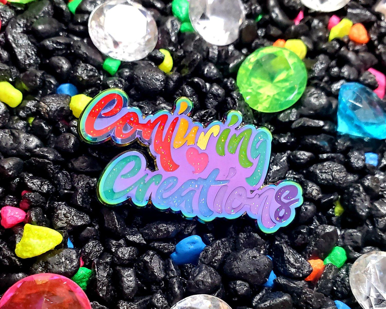 Image of 🌈 Rainbow Surprise CC Logo LE 50 Pins 🌈