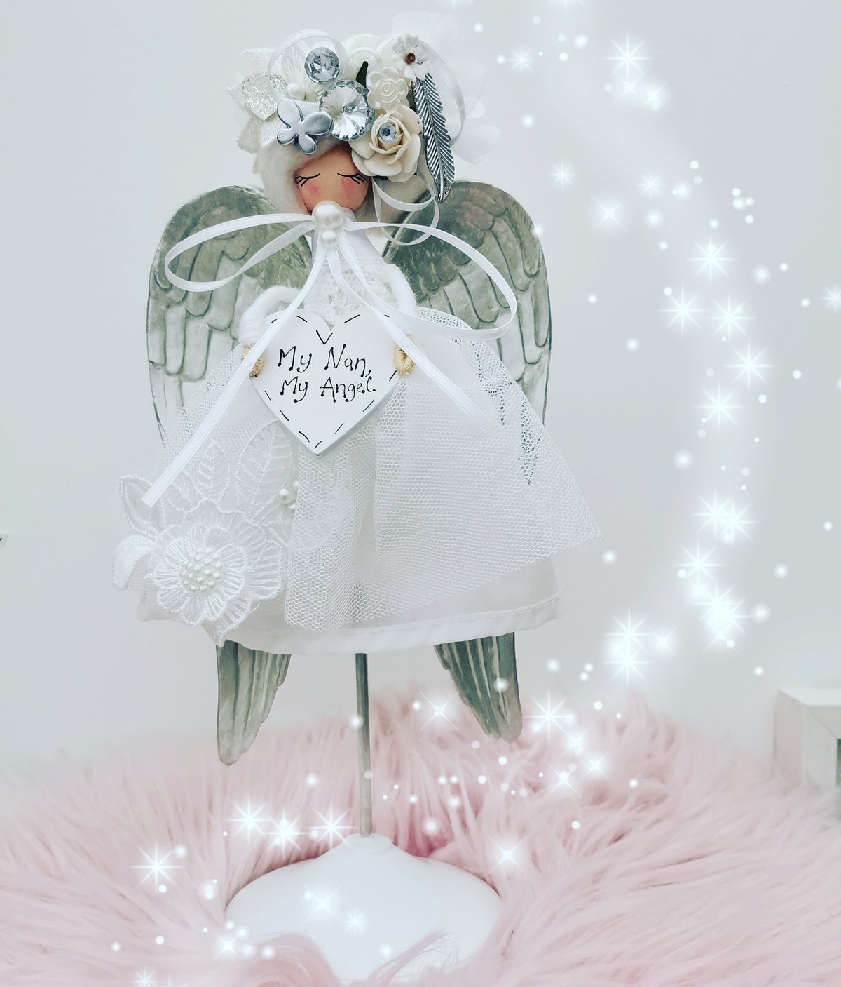 Image of Decorative Angel on a stand