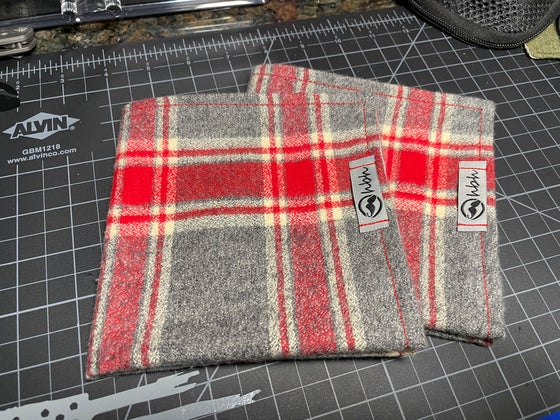 Image of Red Cross flannel