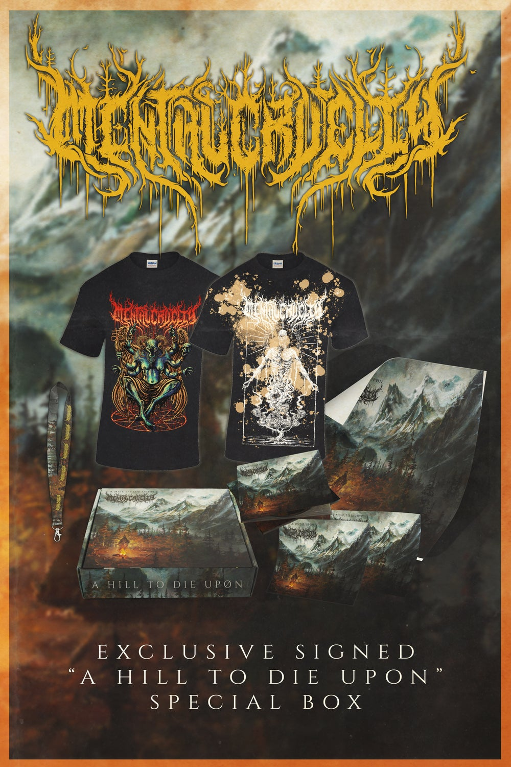 """Image of LIMITED """"A HILL TO DIE UPON"""" Special Box Pre-Order"""