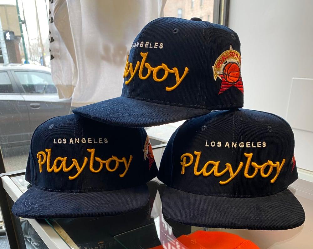 Image of TFG Corduroy Playboy SnapBack