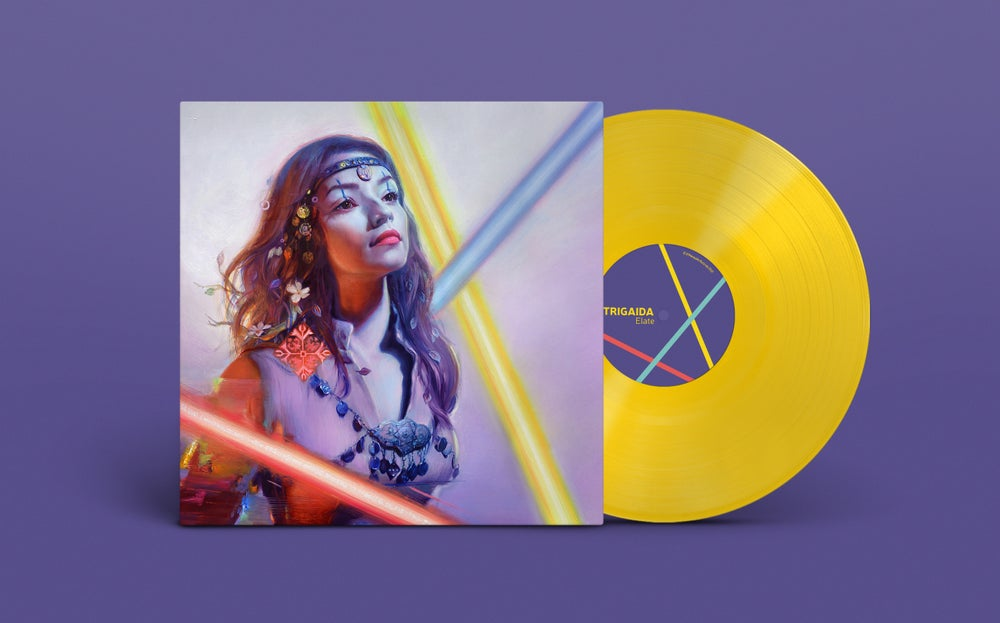 Image of TRIGAIDA - ELATE • limited edition vinyl • preorder
