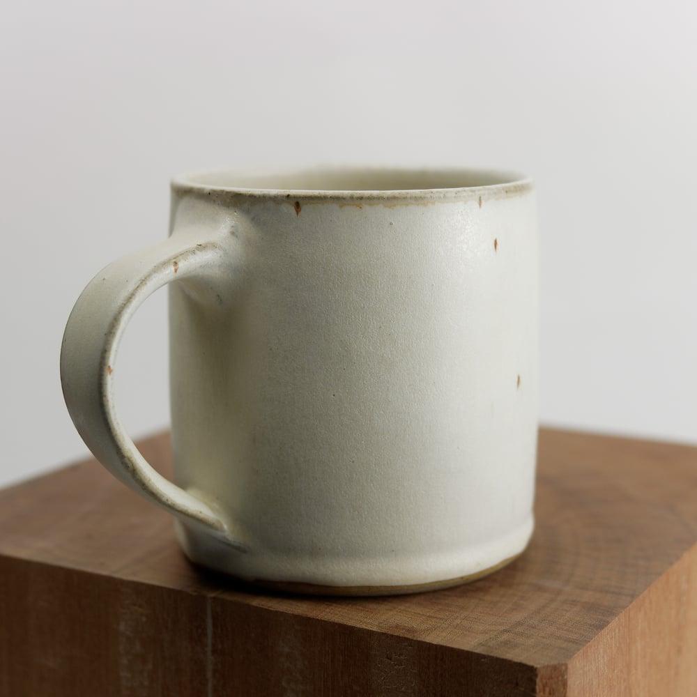 Image of Mug blanc mat