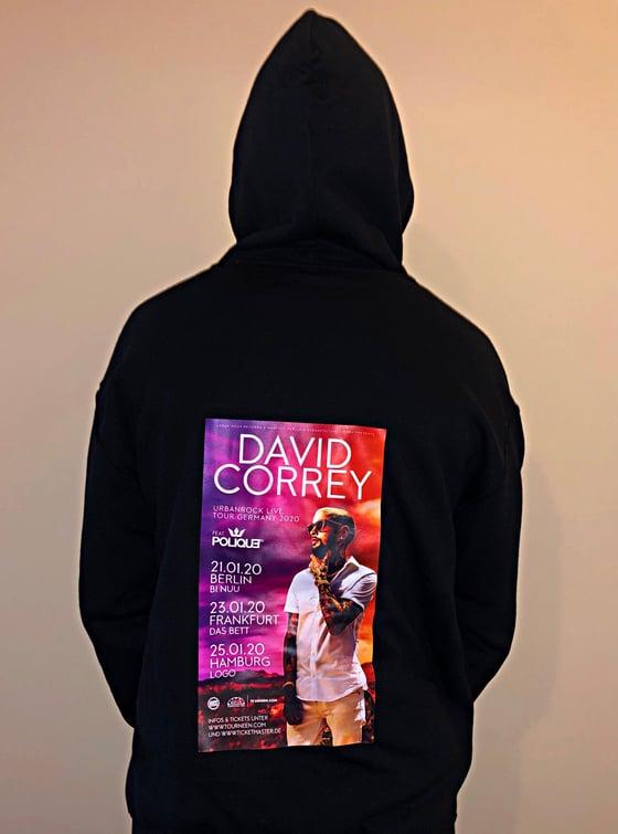 Image of David Correy Germany Tour 2020 Hoodie