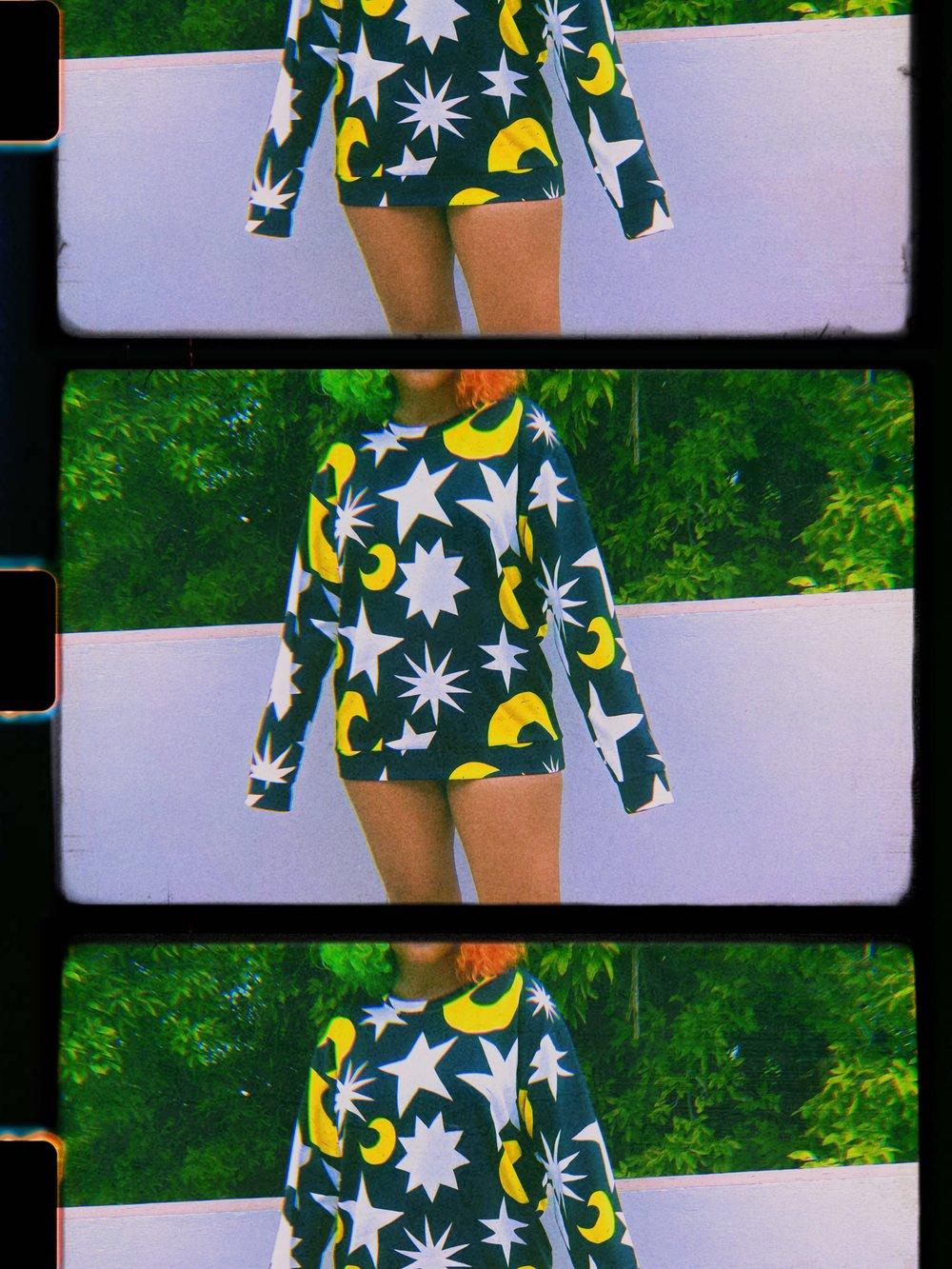 Image of Moonlight print sweater