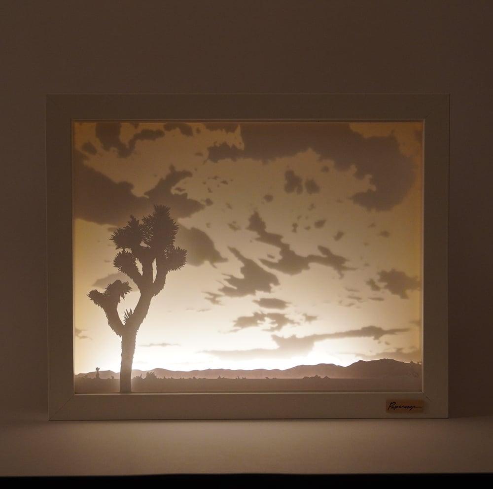 Image of Scene Nine - Sunset at Pinto Wye