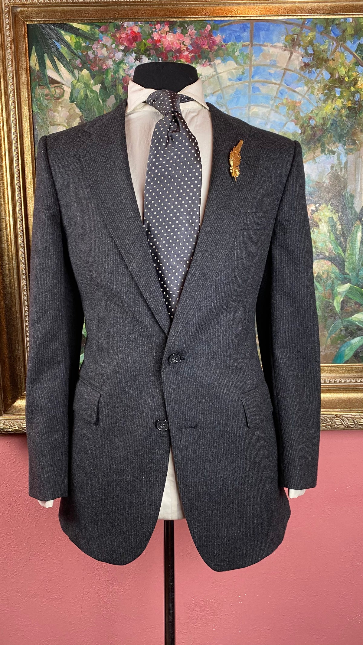 Image of VTG Balmain Suit