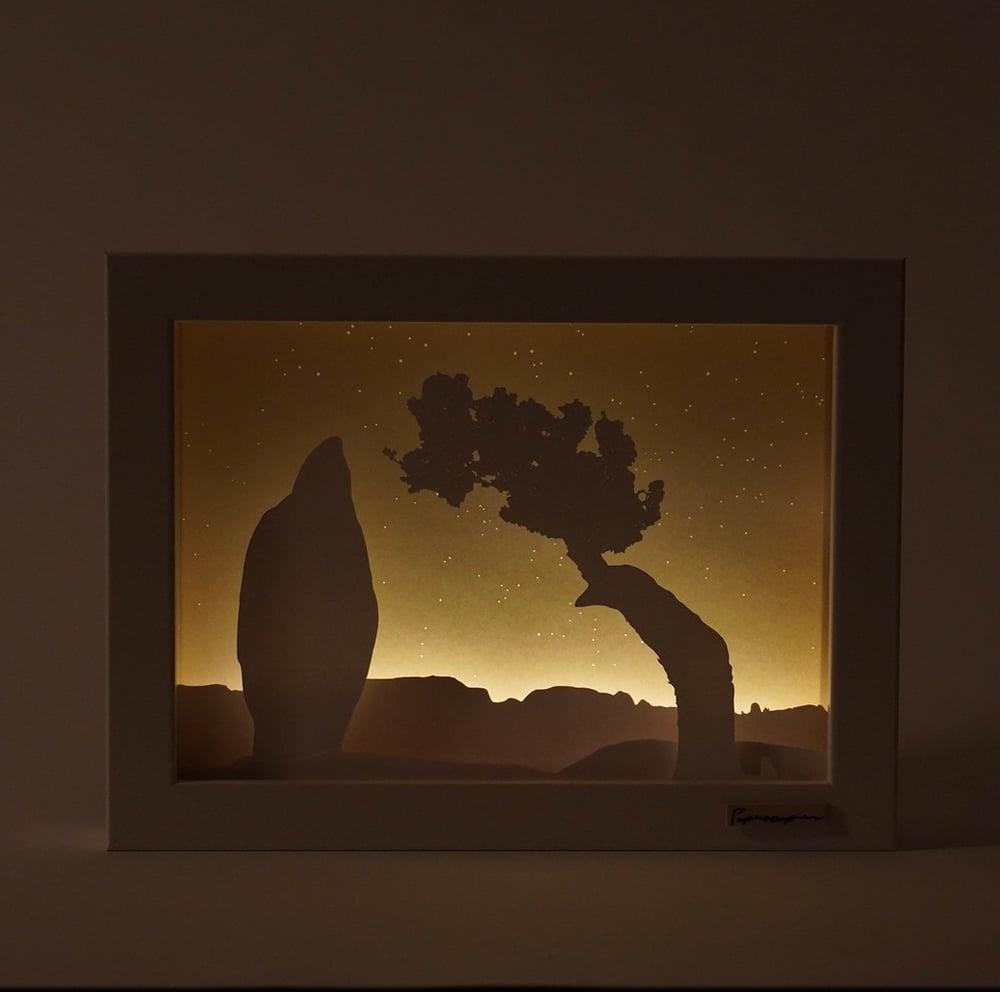 Image of Scene Twelve - Juniper Tree & Penguin Rock