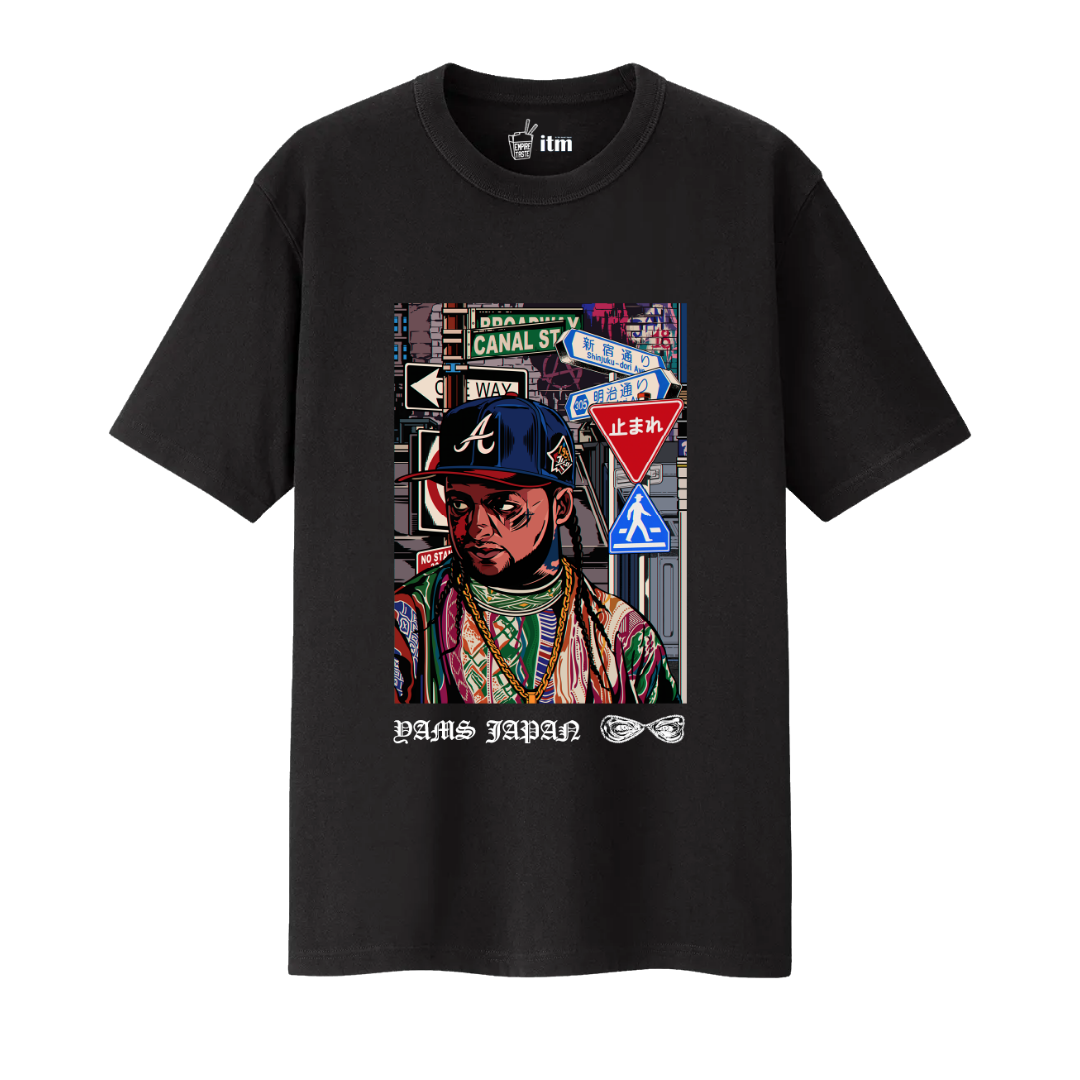 Rudcef Yams Day T-Shirt (Black)