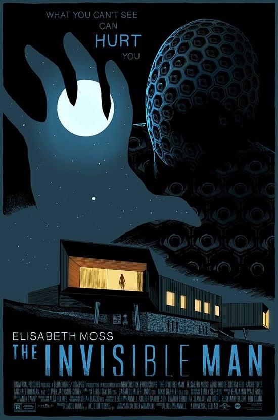 Image of The Invisible Man (2020) - Mondo Screen Print AP 24x36 (regular)