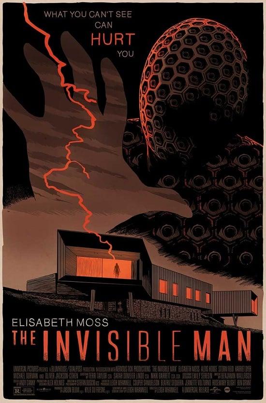 Image of The Invisible Man (2020) - Mondo Screen Print AP 24x36 (variant)
