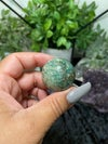 Blue Apatite 20mm Sphere