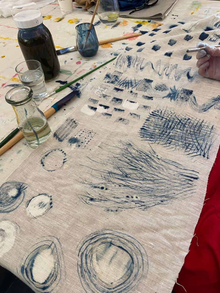 Image of Painting with indigo workshop..join Cath from the Happenstore Saturday April17th 2-6pm