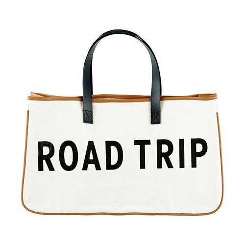 Image of Road Trip Canvas Tote
