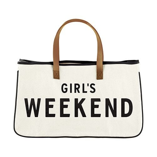 Image of Girls Weekend Canvas Tote