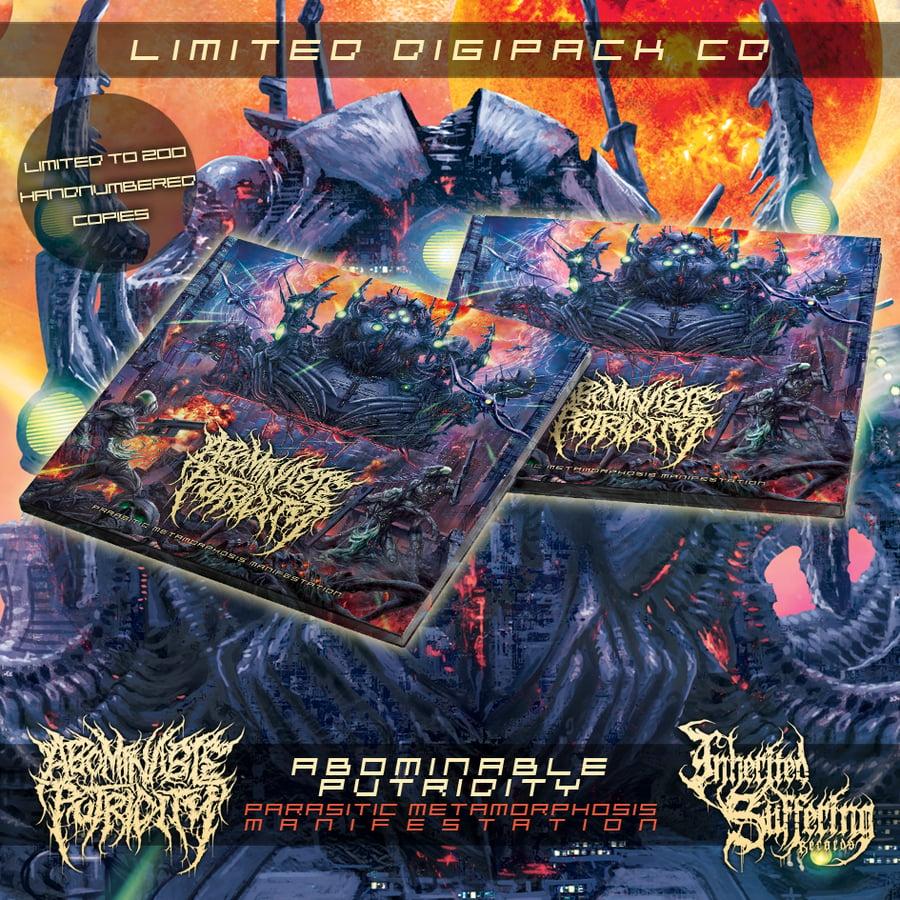 Image of Abominable Putridity - Parasitic Metamorphosis Manifestation - Limited Digipack CD