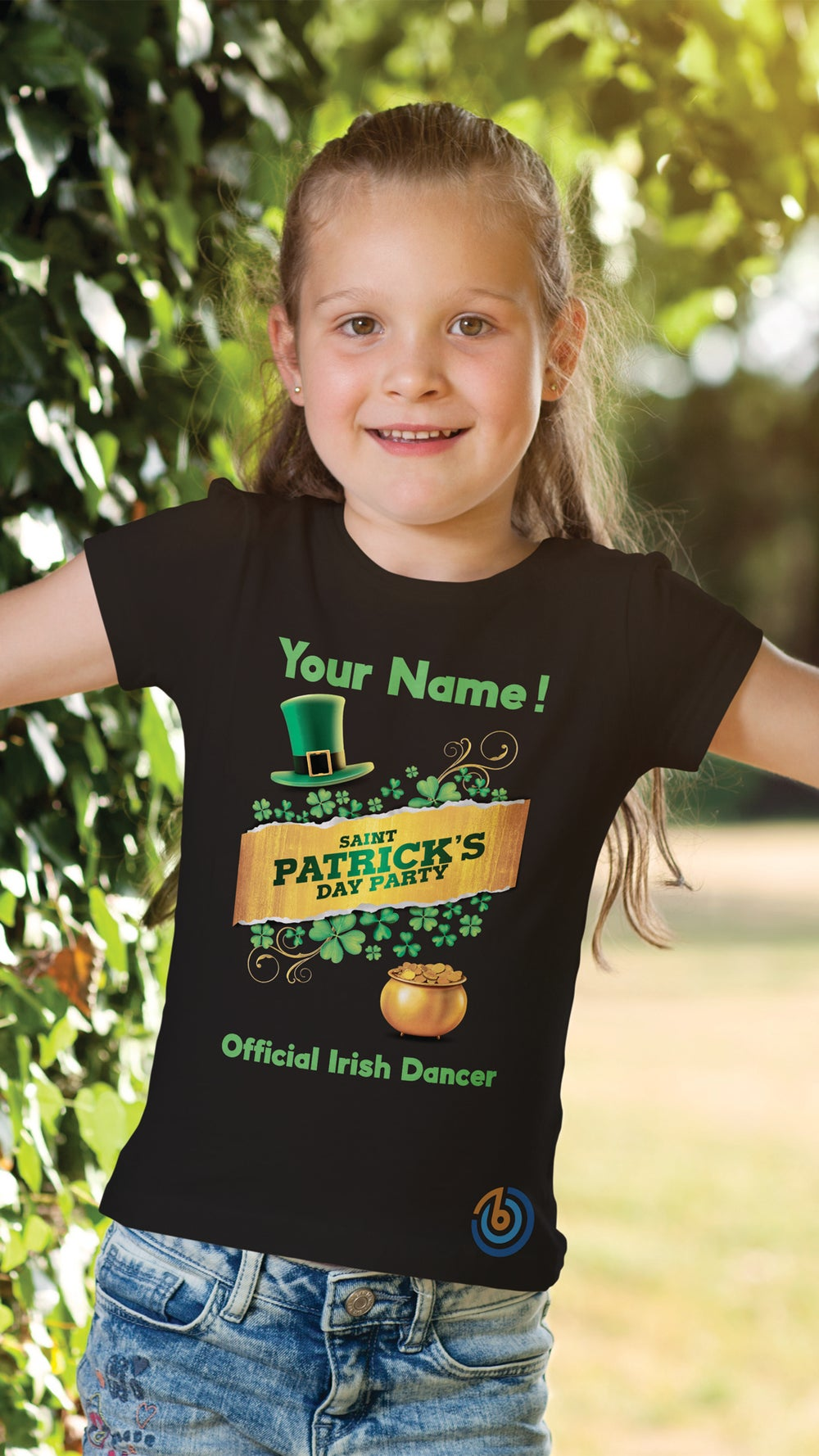 Girls Custom  Beat St Patrick's Day 2021