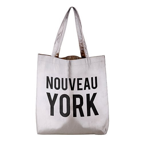 Image of Metallic Nouveau York Tote