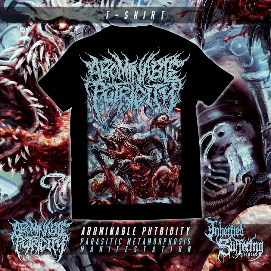Image of Abominable Putridity - Parasitic Metamorphosis Manifestation - Alternative Design - T-Shirt
