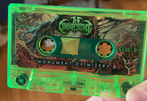 """The Convalescence """"Monument Of Misery"""" Cassette Tape"""