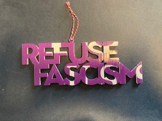 Image of Refuse Fascism Cutout