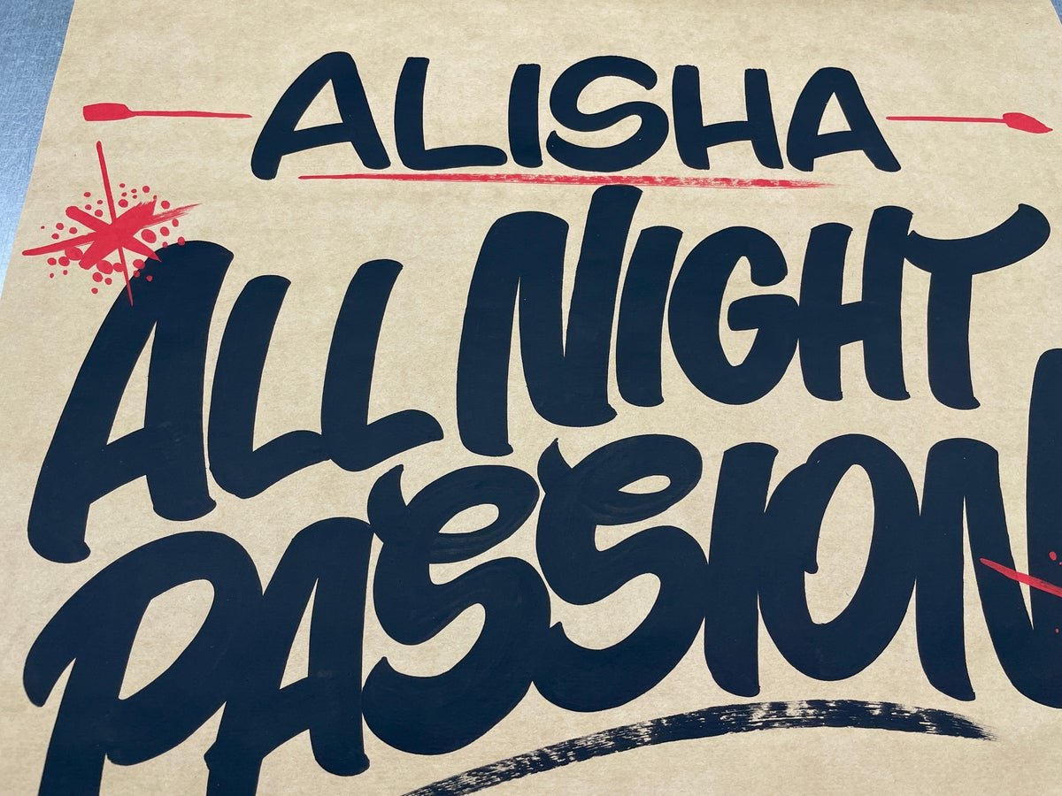Image of All Night Passion - Brown Butcher Paper