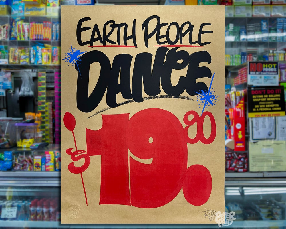 Image of Dance - Brown Butcher Paper