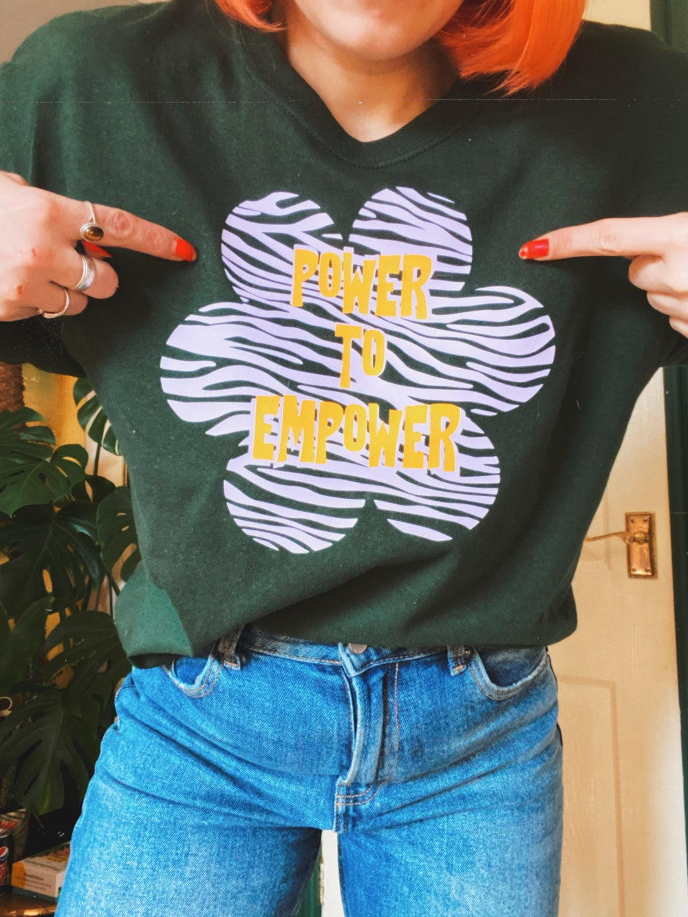 Image of Power to empower sweaters and tees adults and children