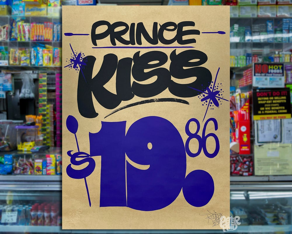 Image of Kiss - Brown Butcher Paper
