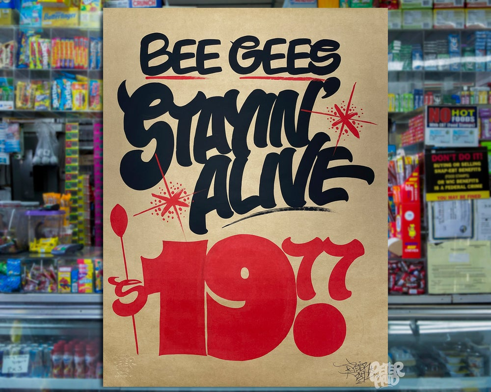 Image of Stayin' Alive - Brown Butcher Paper