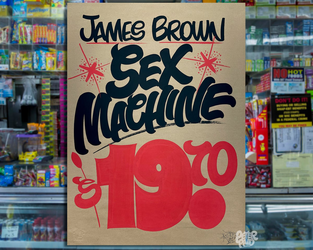 Image of Sex Machine - Brown Butcher Paper